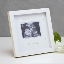 Bambino Scan Photo Frame - Its a Boy