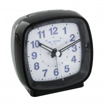 Widdop Square Alarm Clock - Sweep-Snooze- Beep