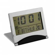 Widdop LCD Folding Digital Alarm Clock