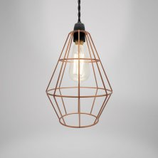 Copper Shoreditch Ceiling Pendant Lamp Shade