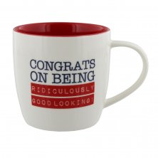 Congrats On Being Ridiculously Good Looking Mug