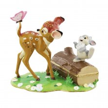 Disney Bambi & Thumper Treasured Trinkets Box