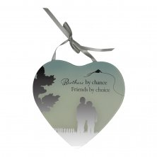 Reflections Of The Heart Mirror Heart Plaque Brother