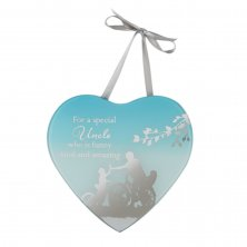 Reflections Of The Heart Mirror Heart Plaque Uncle
