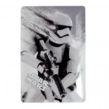 Star Wars Stormtrooper Metal Plaque