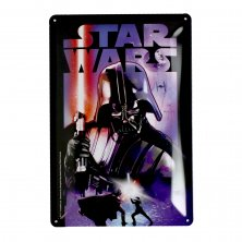 Star Wars Darth Vader Metal Plaque