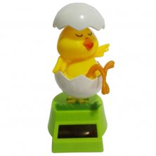 Solar Powered Chick In Egg Flip Flap