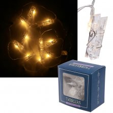 Pegs LED Light String Decoration