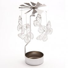 Butterfly Tea Light Powered Spinning Decoration