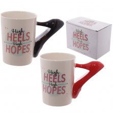 Ceramic Mug - High Heels, High Hopes