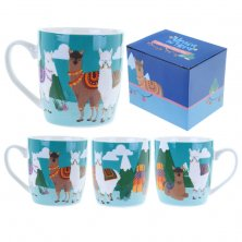 Alpaca the Herd Bone China Mug