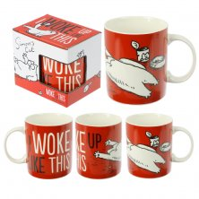 Simon's Cat I Woke Up Like This Bone China Mug