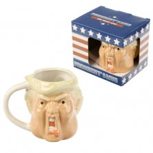President Trump Head Shaped Mug