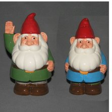 Gnome Ceramic Money Box