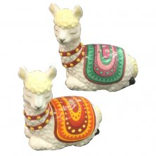 Alpaca Salt & Pepper Pots