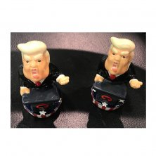 President Trump Salt & Pepper Pots