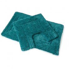 Luxurious 2 Piece Bath Mat Set - Plain