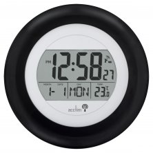 Acctim Circus LCD Radio Control Wall Clock