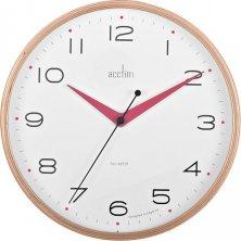 Acctim Carnegie Quartz Wood Wall Clock