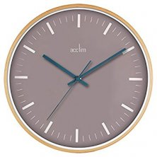 Acctim Bremen Quartz Wood Wall Clock