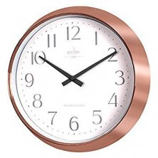 Acctim Shelby Copper Quartz Wall Clock