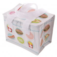 Fast Food Insulated Lunch Bag