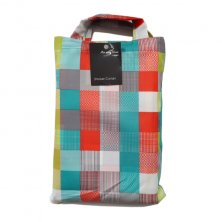 Elements Multi Check Polyester Shower Curtain