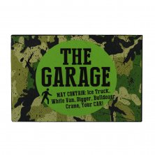Wildside Garage Metal Wall Plaque