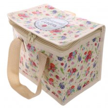 Botanical Gardens Floral Insulated Lunch Bag