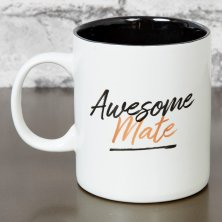 Hero Stoneware Mug - Awesome Mate