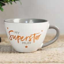 Shining Star Cappuccino Mug - My Superstar Mum