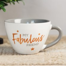 Shining Star Cappuccino Mug - My Fabulous Friend