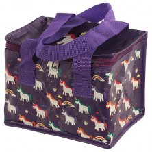 Unicorn Enchanted Rainbows Insulated Lunch Bag