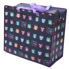 Owls Laundry Storage Bag