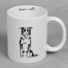 Best of Breed Stoneware Mug - Border Collie