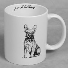 Best of Breed Stoneware Mug - French Bulldog