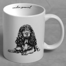 Best of Breed Stoneware Mug - Cocker Spaniel