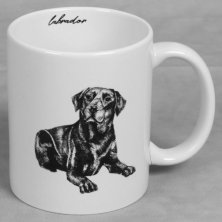 Best of Breed Stoneware Mug - Labrador