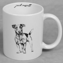 Best of Breed Stoneware Mug - Jack Russell