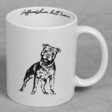 Best of Breed Stoneware Mug - Staffordshire Bull Terrier