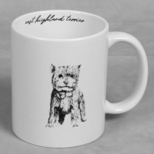 Best of Breed Stoneware Mug - West Highland Terrier