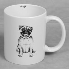 Best of Breed Stoneware Mug - Pug