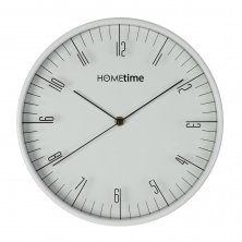 Hometime Plastic Wall Clock - White - 30cm