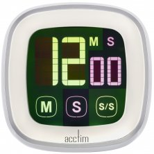 Touchscreen LCD Scroll Timer