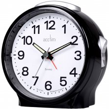 Acctim Elsie Sweeping Alarm Clock 10cm