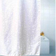Blue Canyon Blossom Polyester Shower Curtain