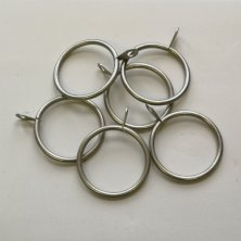 Satin Curtain Rings 25-28mm - Set Of 6