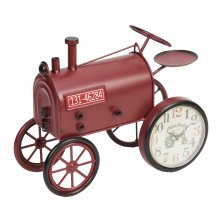 Hometime Mantel Clock - Red Tractor