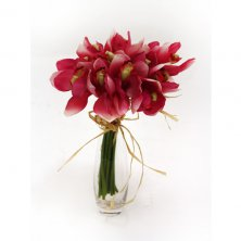Pink Artificial Flower Cymbidium Bundle