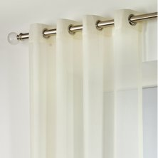 Champagne Boston Eyelet Voile Panels